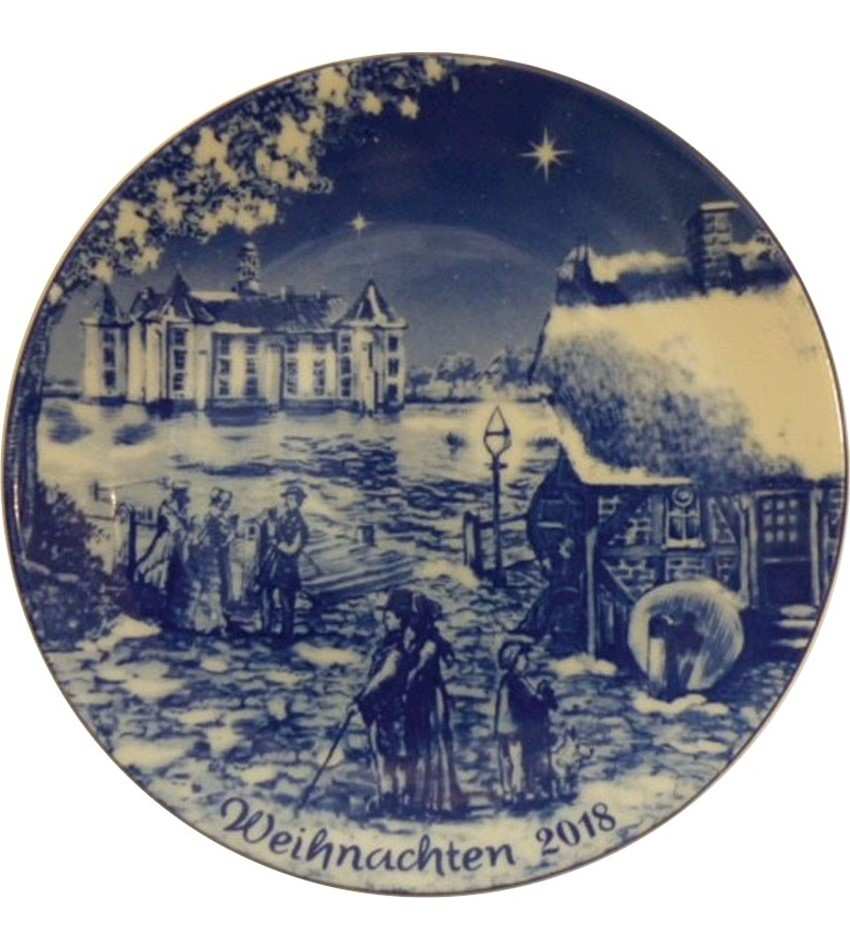 2018BDXPG - 2018 Berlin Design Christmas Plate - german