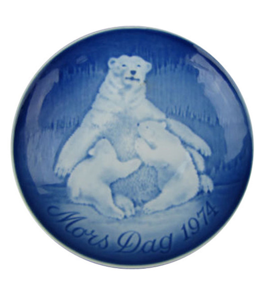 74BGMDP - 1974 Mother's Day Plate