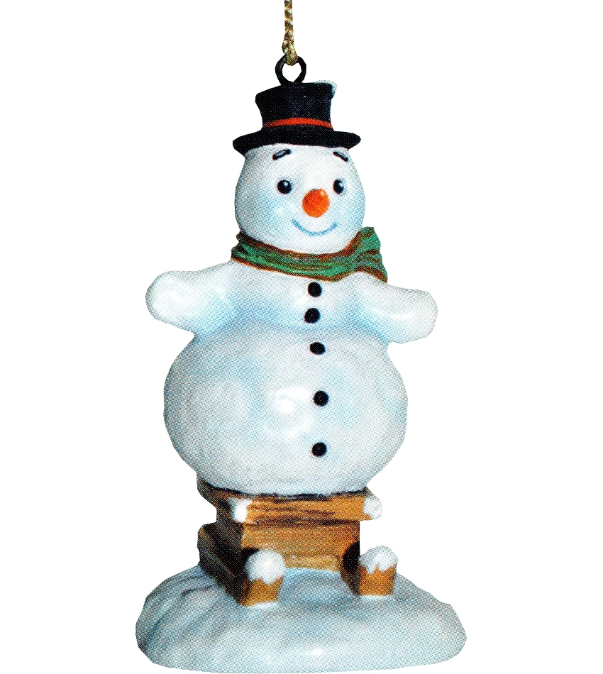 827402 - Snow Day Fun Snowman Ornament
