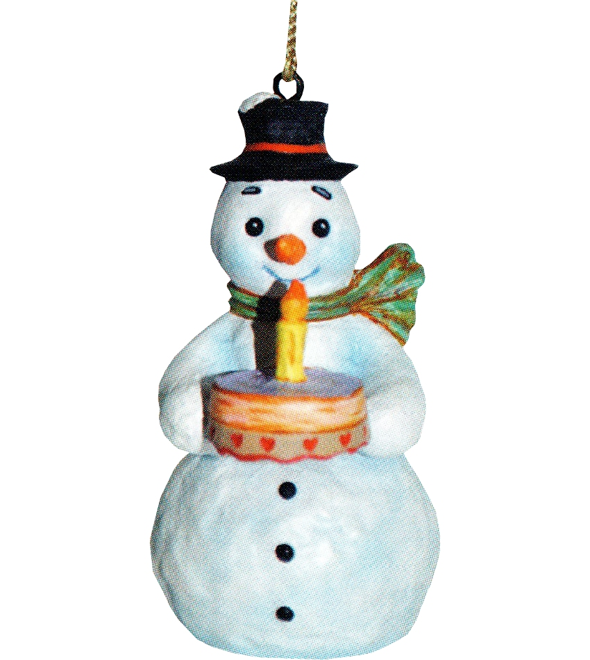 827403 - A Wish for You Snowman Ornament