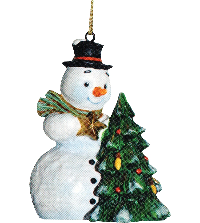 827405 - Finishing Touch Snowman Ornament