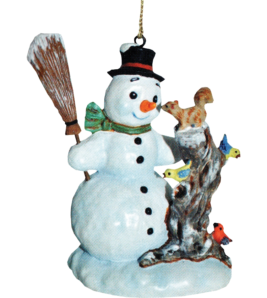 827406 - Curious Friend Snowman Ornament