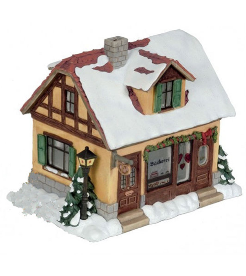 827934 - Bakery Mini Winter Village
