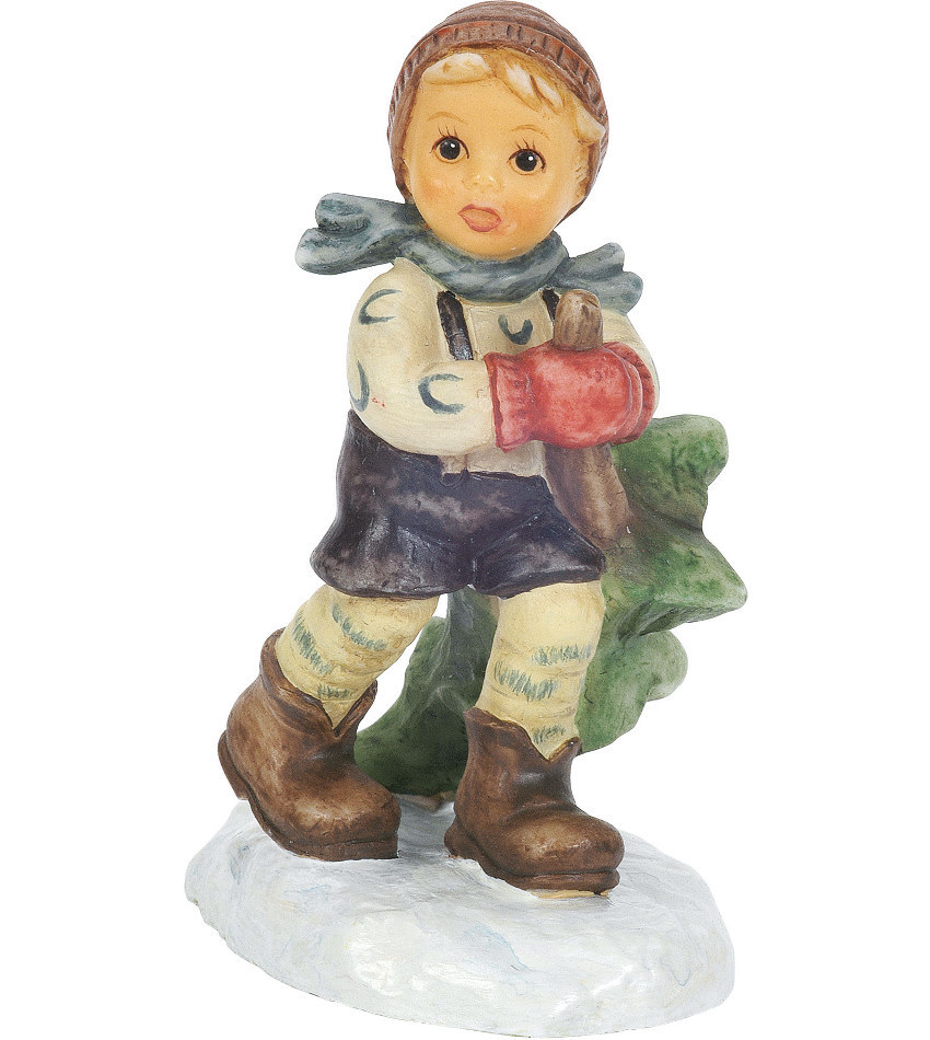 827940 - Coming from the Woods Mini Figurine
