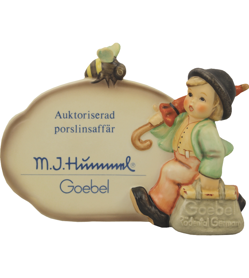 900-018 - Merry Wanderer Plaque - German