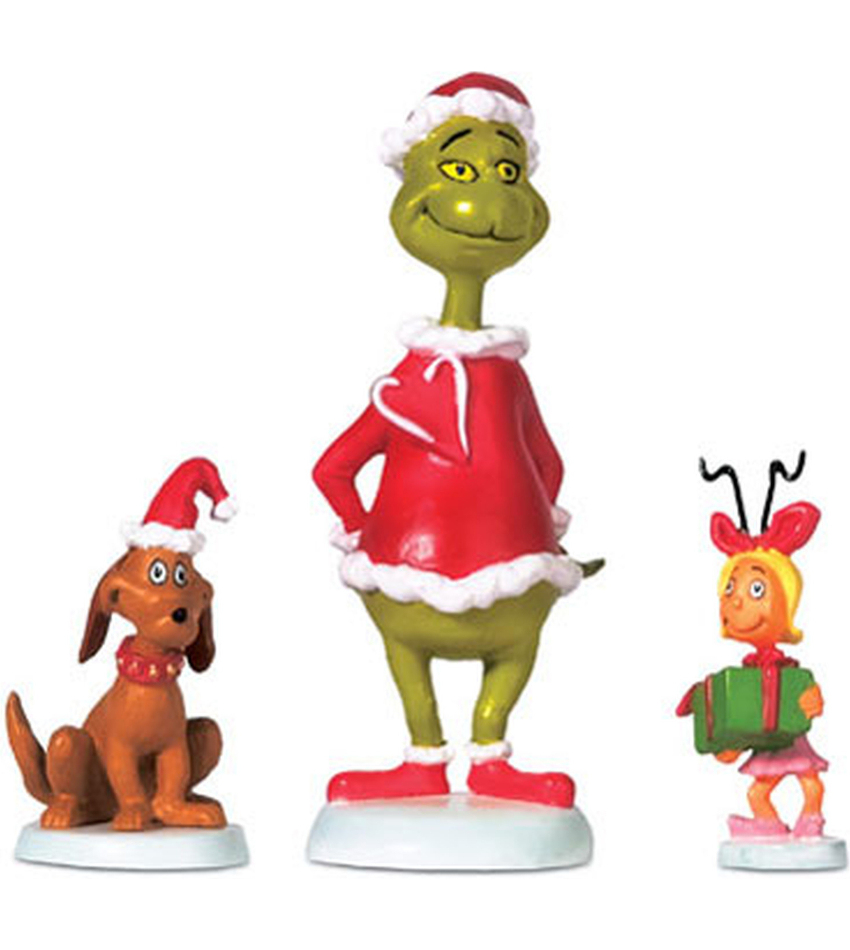 DT804152 - Grinch, Max & Cindy-Lou Who
