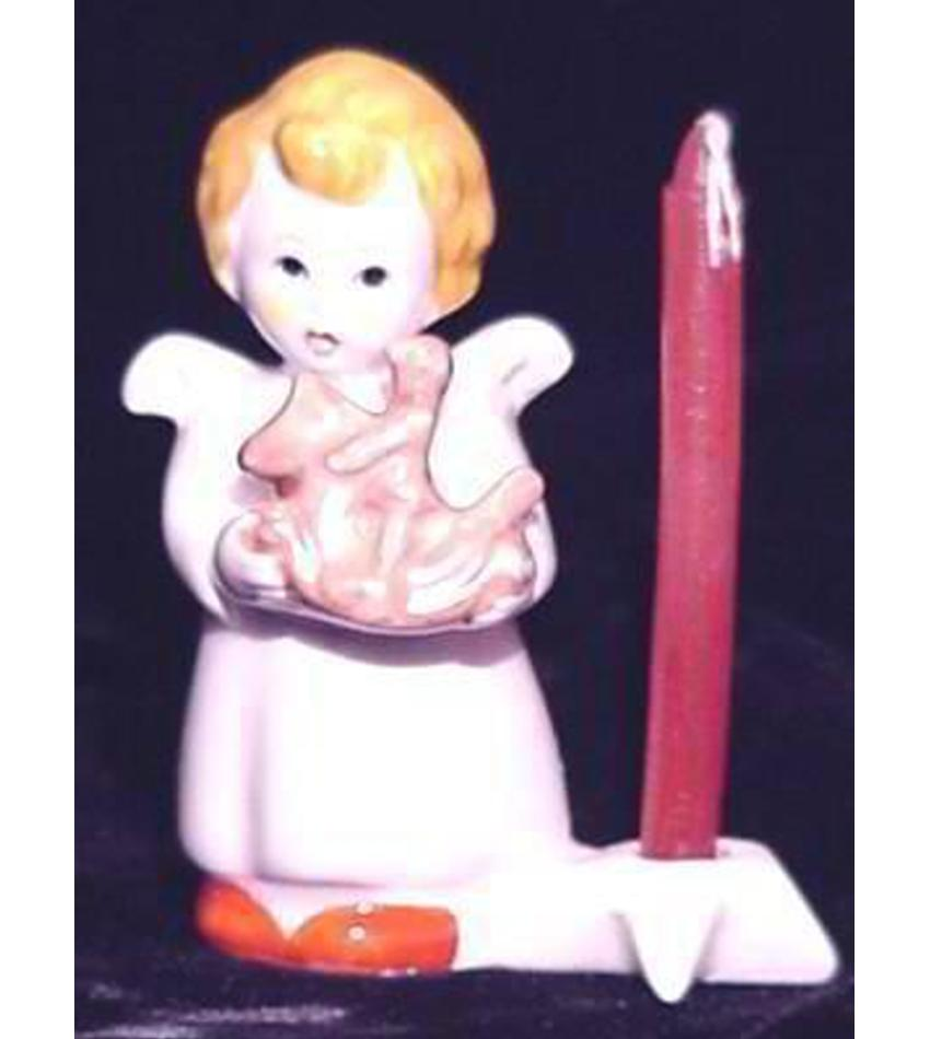 G235127 - Angel Candleholder W/toy