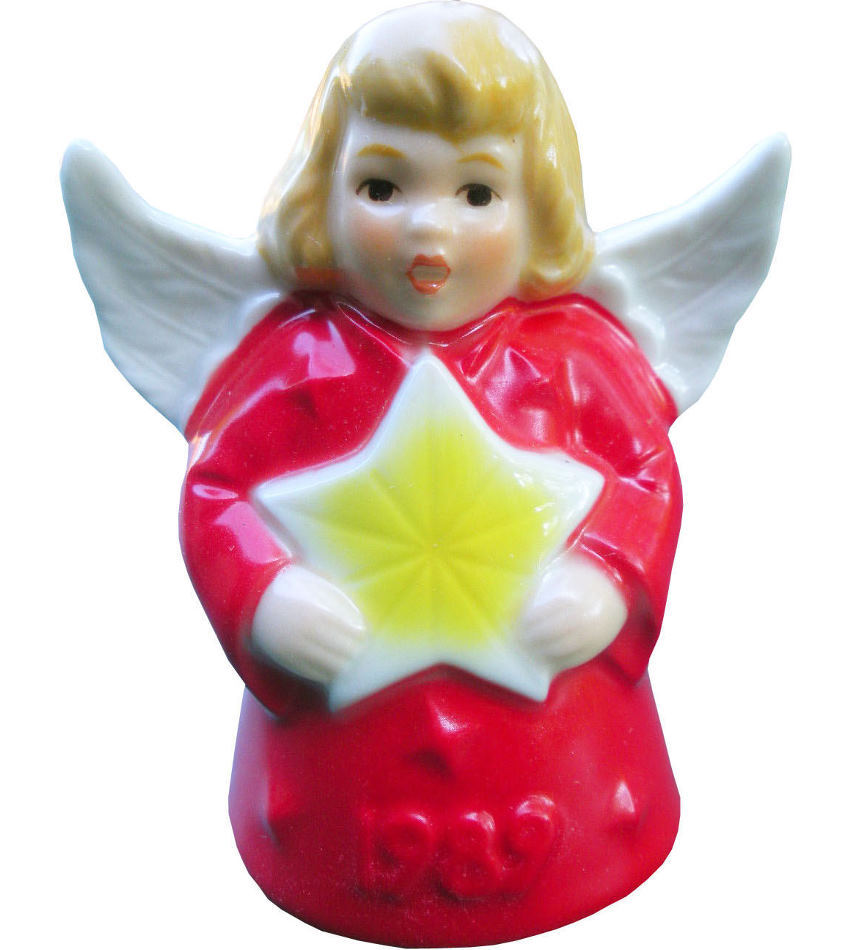 G51777 - 1989 Angel Bell (colored)