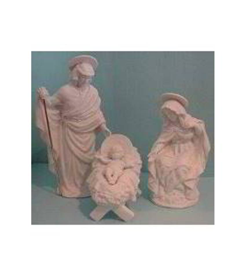 G582010 - 3pc Nativity Set Wb Disc 91