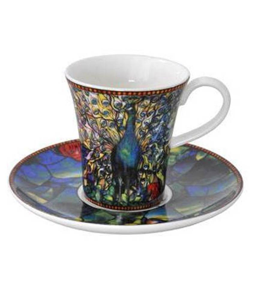 G67011521 - Peacock Demitasse
