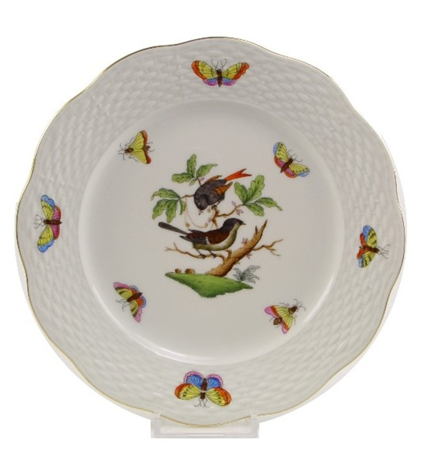 HRBP4 - Herend Rothschild Bird Plate #4