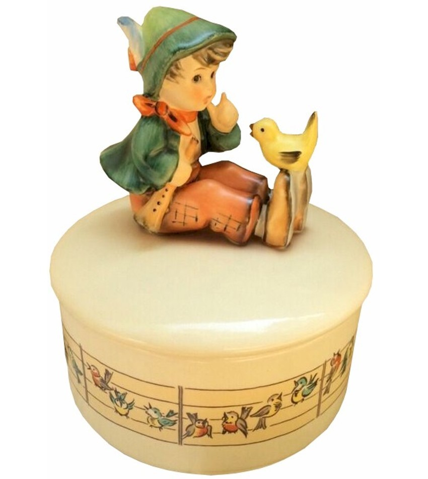 IV/63 - SINGING LESSON MUSIC BOX