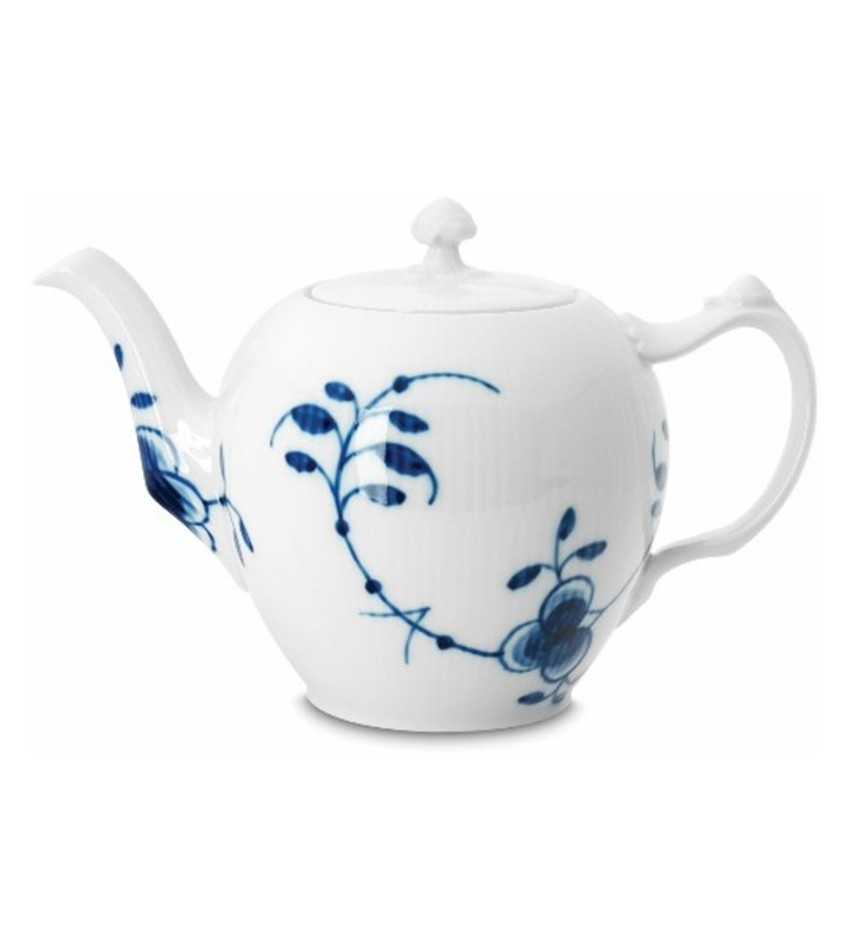 RC2381141 - Blue Fluted Mega Tea Pot