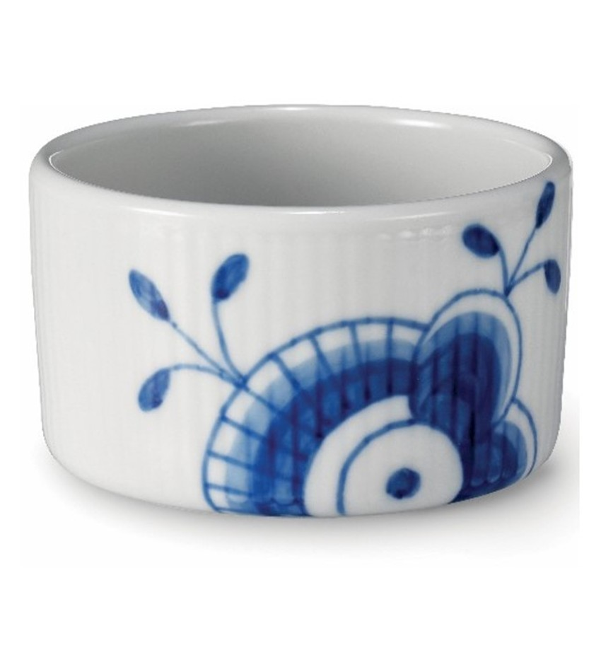 RC2381585 - Blue Fluted Mega Souflee Dish