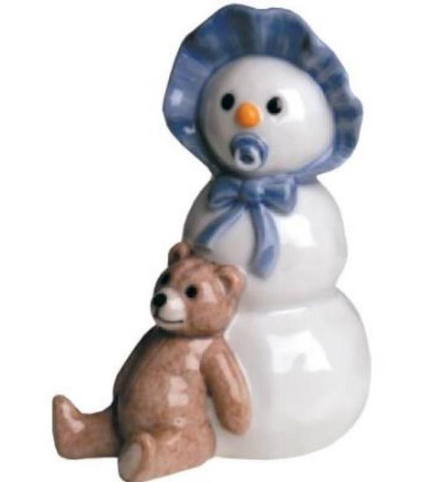 RC249019 - Snowman Boy with Teddy Bear