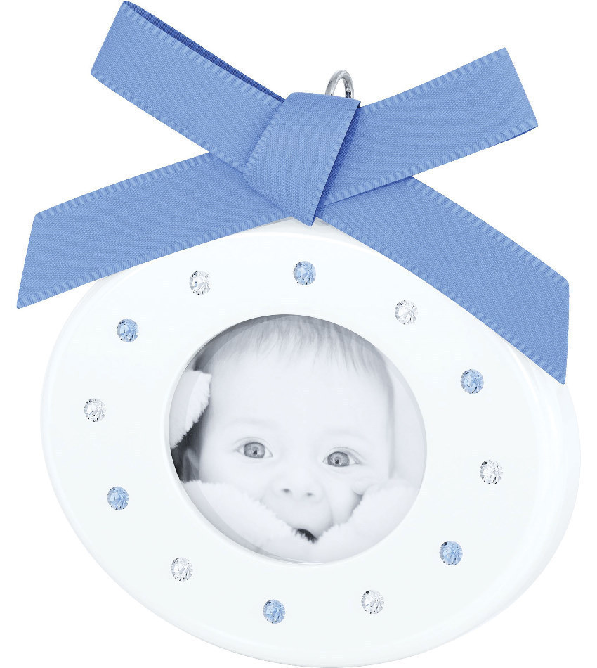 S5049485 - Baby Picture Frame, Blue