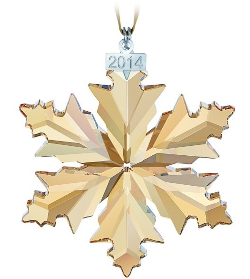 S5059027 - 2014 SCS Gold Ornament