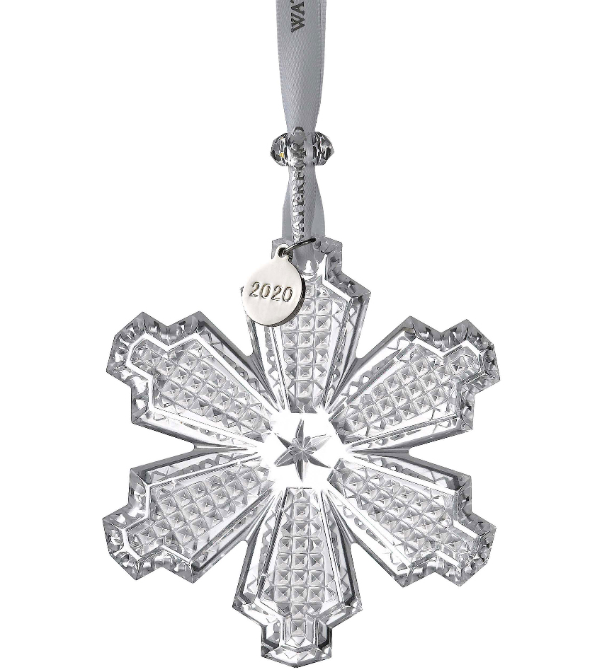 W1055098 - 2020 Snowcrystal Ornament