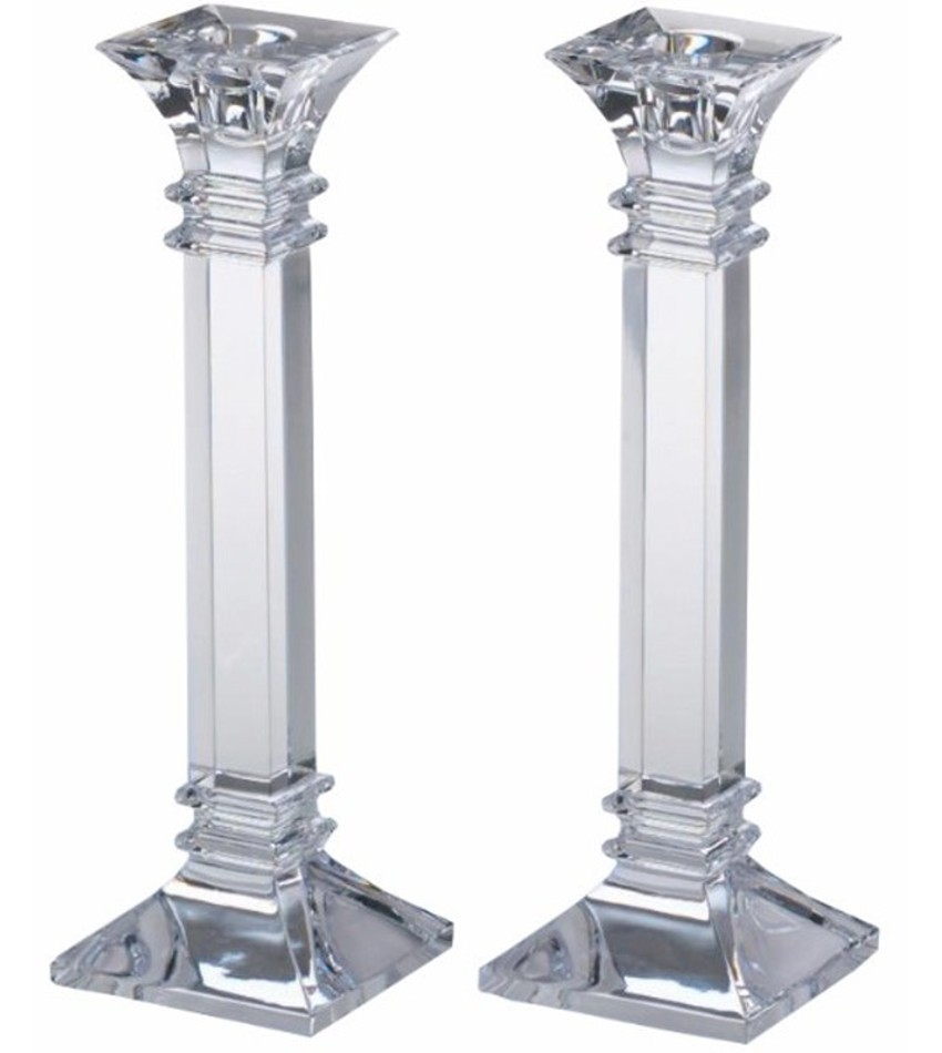 "W136302 - Treviso 10"" Candlesticks-pair"