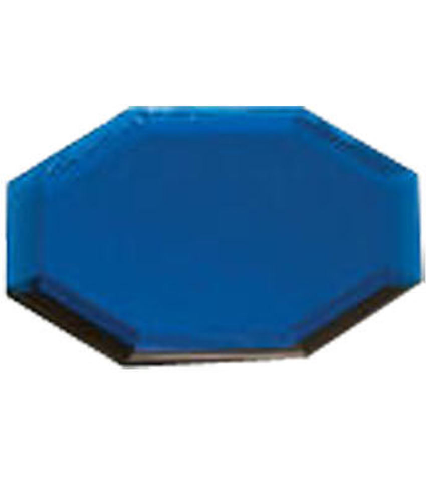WP562B - Blue Small Octagon Mirror